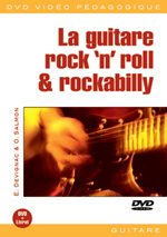 La guitare rock 'n' roll et rockabilly