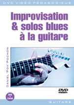 Improvisation et solos blues à la guitare