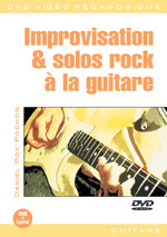 Improvisation et solos rock à la guitare