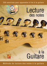 La lecture des notes à la guitare